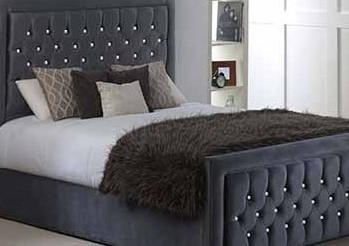 Diamond Studded Bed