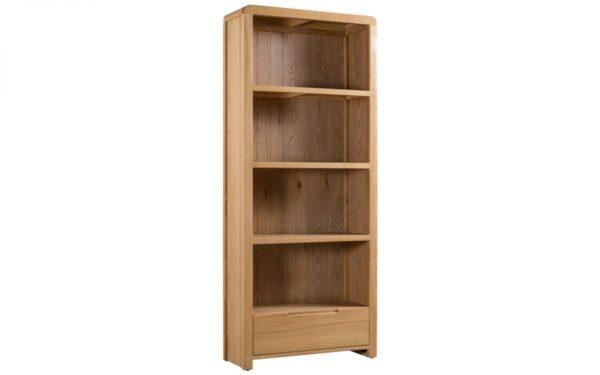 Curve Oak Bookcase