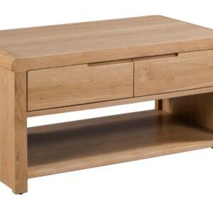 Curve Oak Coffee Table