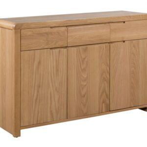 Curve Oak Sideboard