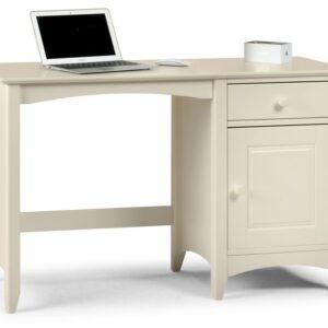 Cameo Desk Stone White