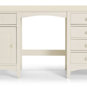 Cameo Dressing Table Stone White Front View