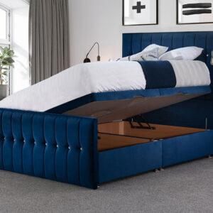 Opulence Sparkle Ottoman Bed