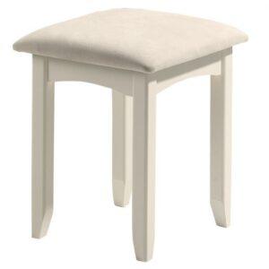 Cameo Dressing Stool Stone White