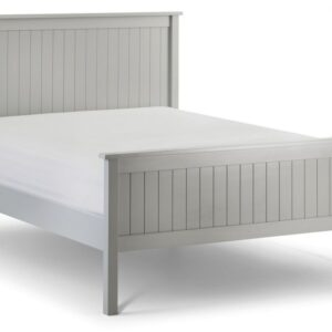 Maine Dove Grey Bed Frame Double