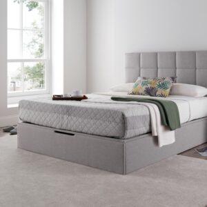 Whitburn Ottoman Bed Silver